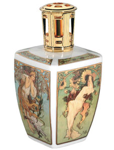 Four Seasons Mucha Fragrance Lamp by Lampe Berger