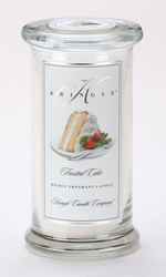 Frosted Cake Large Apothecary Jar Kringle Candle | Large Apothecary Jar Kringle Candles