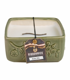 Garden Willow - Large Square RibbonWick Candle