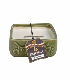 Garden Willow - Medium Square RibbonWick Candle