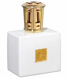 CLOSEOUT - Gold Leaf Fragrance Lamp by Lampe Berger-