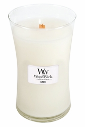 Linen WoodWick Candle 22 oz. | WoodWick Fragrance Of The Month