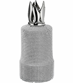 CLOSEOUT - Maille Silver Fragrance Lamp by Lampe Berger