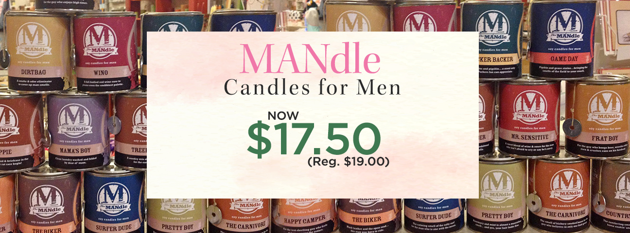 MANdle 15 oz. Paint Can Candles by Eco Candle Co.