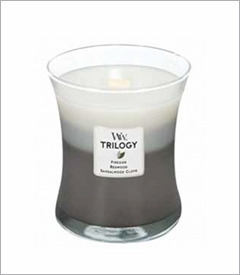 Medium WoodWick Trilogy Candles - 10oz