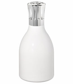 CLOSEOUT - Milk White Fragrance Lamp by Lampe Berger