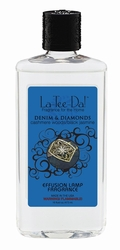 16 oz.  Denim & Diamonds La Tee Da Fragrance Oil | 16 oz. La Tee Da Fragrance Lamp Oils
