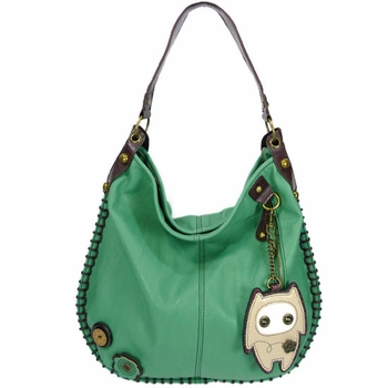 Alien Baby Hobo Handbag Teal