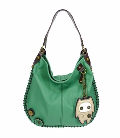 Alien Baby Hobo Handbag (Teal)