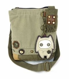 CLOSEOUT - Alien Baby Patch Crossbody Bag - Sand