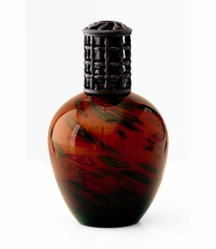 NEW! - Amber Milifiore Fragrance Lamp by La Tee Da