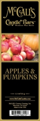 Apples & Pumpkins McCall's Candle Bar | Candle Bars by McCall's