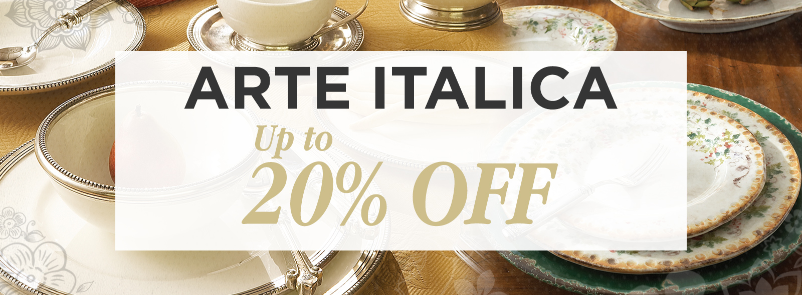 Arte Italica Tableware & Decor