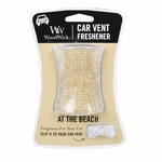 At The Beach WoodWick Car Vent Freshener | WoodWick Car Vent Fresheners