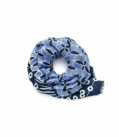 NEW! - Bands of Blue Whitaker Scarf by Spartina 449