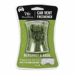 NEW! - Bergamot & Basil WoodWick Car Vent Freshener | Car Vent Fresheners - Woodwick Fall & Winter 2015