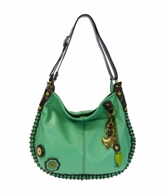 NEW! - Bird Charming Hobo Crossbody with Keychain - Teal