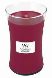 Black Cherry WoodWick Candle 22 oz. | WoodWick Fragrance Of The Month