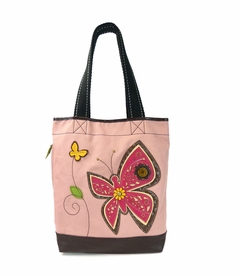 NEW! - Butterfly Simple Tote - Pink