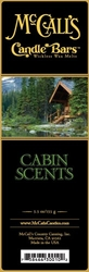 Cabin Scents McCall's Candle Bar | Candle Bars by McCall's