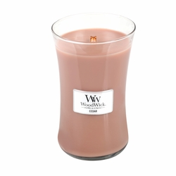 Cedar WoodWick Candle 22 oz. | Woodwick Candles 22 oz.