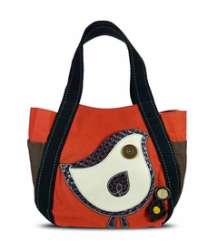 Chichick Bird Carryall Tote - Orange