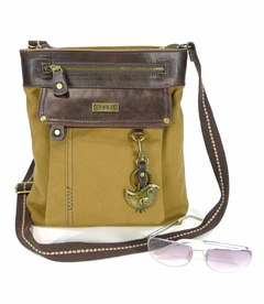 ChiChik Bird Chala Gemini XBody Bag - Brown