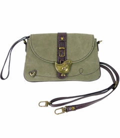 TEMPORARILY OUT OF STOCK - NEW! - ChiChik Bird Chala Mini XBody Bag (Olive)