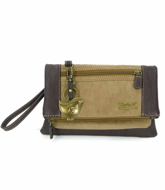 ChiChik Bird Chala Wallet XBody Bag - Brown