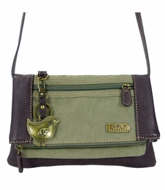 ChiChik Bird Chala Wallet XBody Bag (Olive)