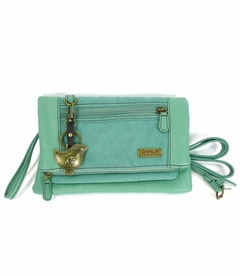 ChiChik Bird Chala Wallet XBody Bag (Teal)