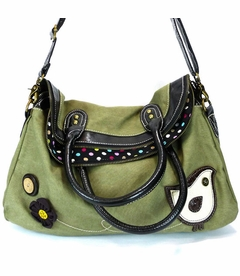 CLOSEOUT - ChiChik Bird Crossbody Bag - Dark
