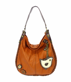 CLOSEOUT - ChiChik Bird Hobo Handbag - Orange