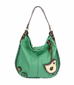 ChiChik Bird Hobo Handbag - Teal