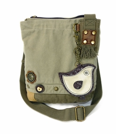 ChiChik Bird Patch Crossbody Bag - Sand
