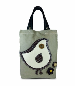 ChiChik Bird Simple Tote (Brown)