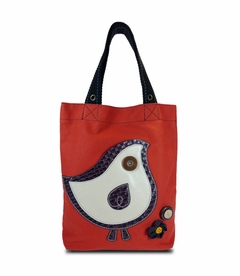 ChiChik Bird Simple Tote - Orange
