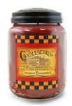 Cinnamon Broomstick 26oz Large Jar Candleberry Candle | Large Jar Candles by Candleberry
