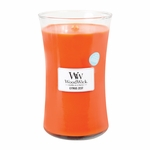 NEW! - Citrus Zest WoodWick ODOR NEUTRALIZING Candle 22 oz. | WoodWick Odor Neutralizing Collection