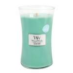 NEW! - Clean Rain WoodWick ODOR NEUTRALIZING Candle 22 oz. | WoodWick Odor Neutralizing Collection