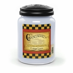 NEW! - Cottage Linens 26 oz. Large Jar Candleberry Candle | New Releases by Candleberry