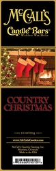 Country Christmas McCall's Candle Bar | New Releases by McCall's