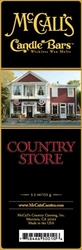 Country Store McCall's Candle Bar | Candle Bars by McCall's