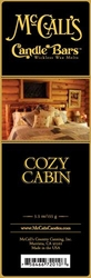 Cozy Cabin McCall's Candle Bar | Candle Bars by McCall's