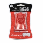 NEW! - Cranberry Cider WoodWick Car Vent Freshener | Car Vent Fresheners - Woodwick Fall & Winter 2015