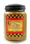 Creme Brulee 26oz Large Jar Candleberry Candle | Large Jar Candles by Candleberry