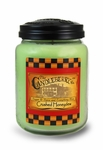 NEW! - Crushed Honeydew 26oz Large Jar Candleberry Candle | Large Jar Candles by Candleberry