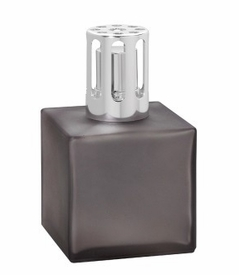 NEW! - Cube Frosted Grey Fragrance Lamp by Lampe Berger
