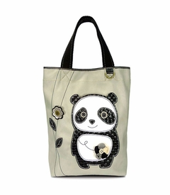 Dada Panda Everyday Tote - Suede (Grey)