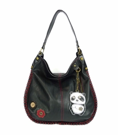 DaDa Panda Hobo Handbag (Black)